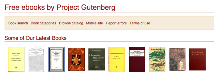 13 websites for cheap books actually worth your time project gutenberg fandeluxe Images