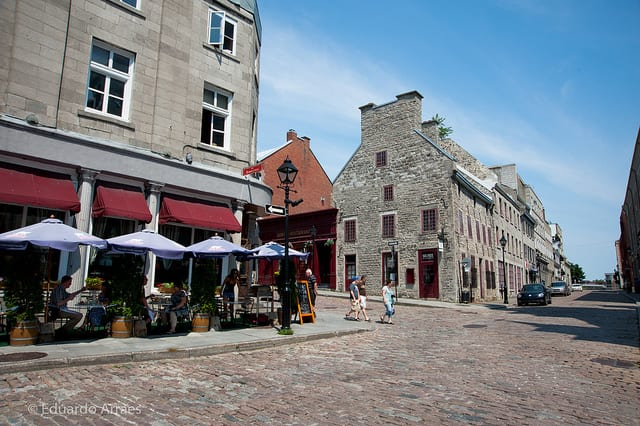 Vieux-Montreal.  (Photo via Flickr user duda_arraes)