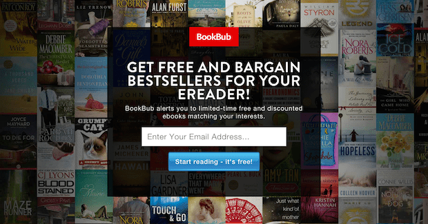 13 websites for cheap books actually worth your time you can sign up and select your favorite categories and your reading device and each day bookbub will send you an fandeluxe Gallery