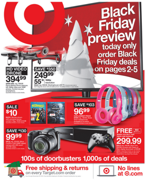 Target BF ad