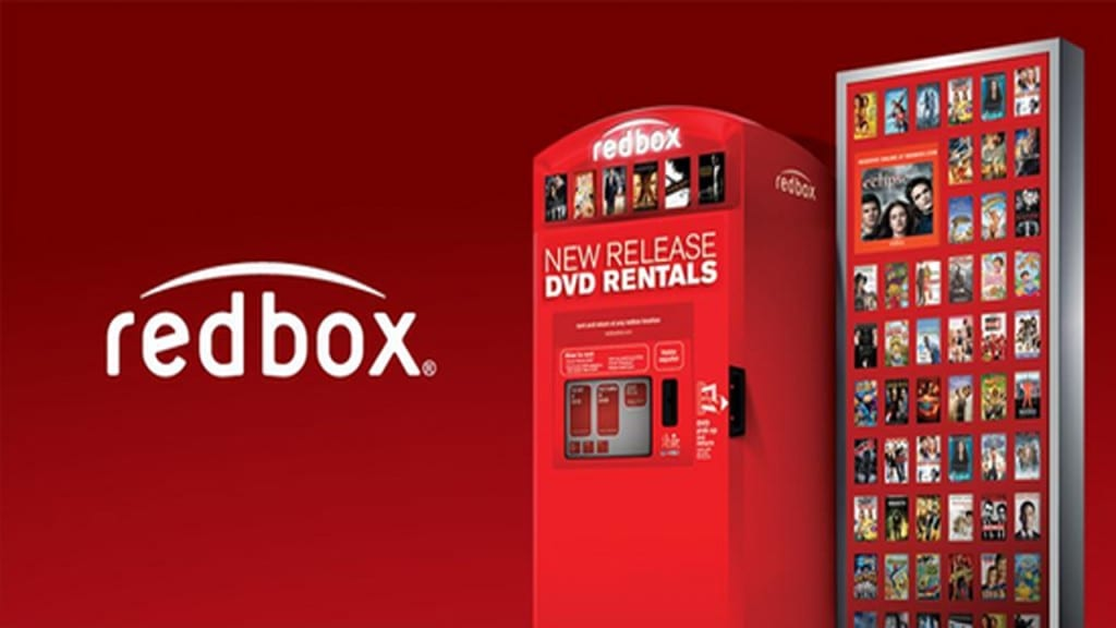 What online services does Redbox offer?