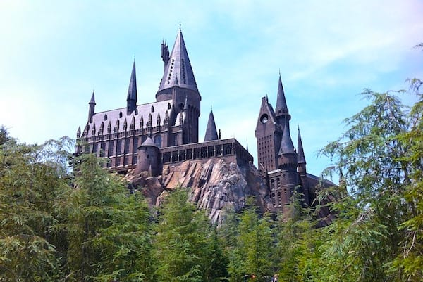 hogwarts castle ride