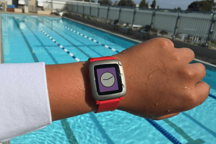 pebble time waterproof