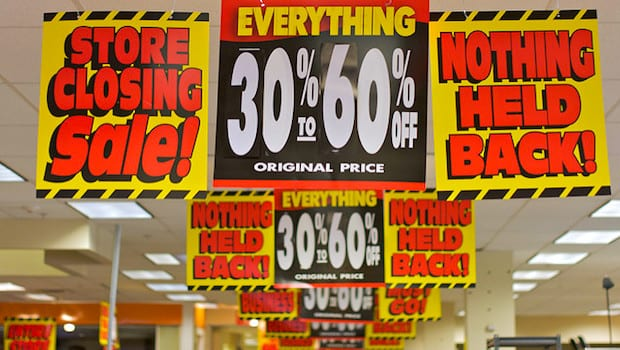 The Myth of Store Closing Sales: Why You Won't Save as Much as You Think