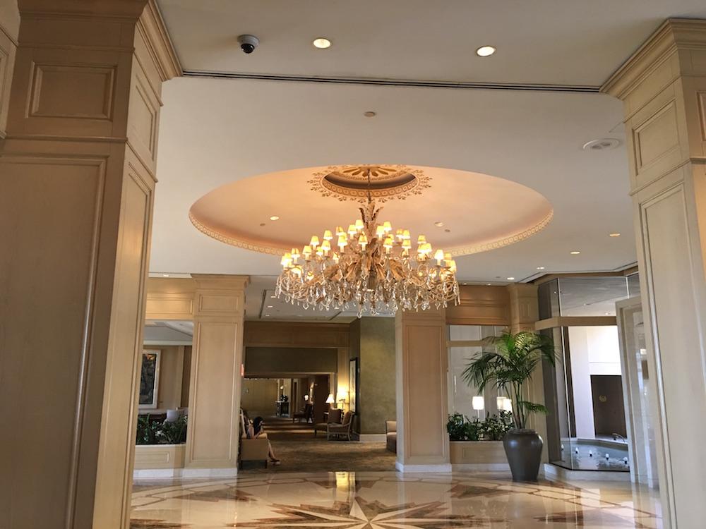 The Phoenician's Swank Lobby