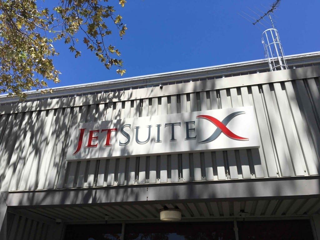 The Entrance to JetSuiteX's terminal