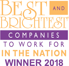 National Best and Brightest 2018 Logo