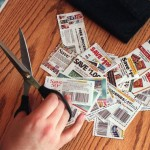 Coupon Clippings with Scissors, Brad's Deals Coupons