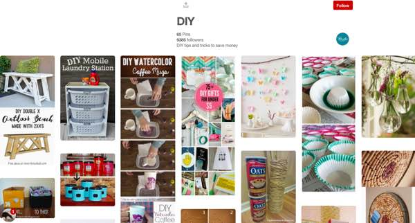 Pinterest Brads Deals DIY