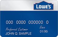 Lowe's Credit Card