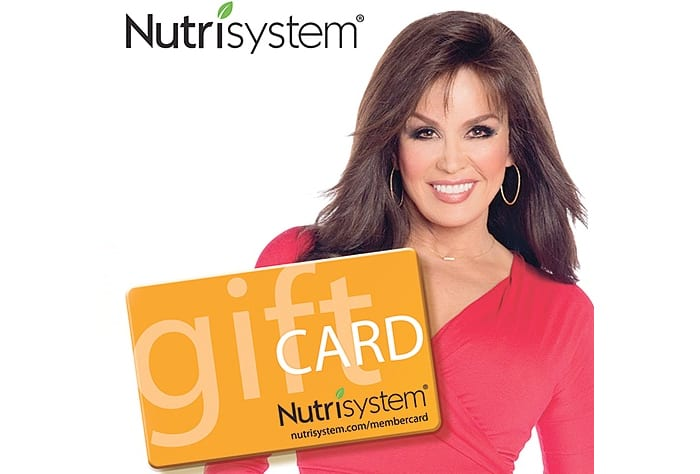 nutrisystem gift cards