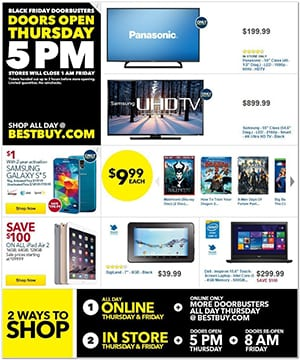 Best Buy Black Friday Ad 2014