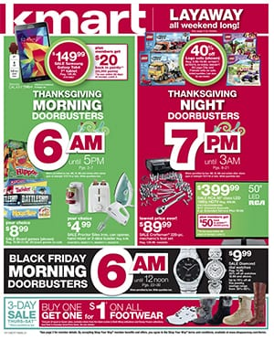 Kmart Black Friday Ad 2014