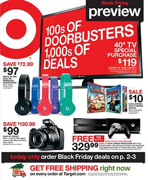 Target Black Friday Ad 2014