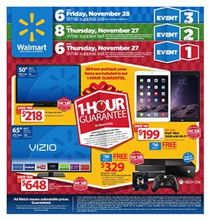 Walmart Black Friday Ad 2014