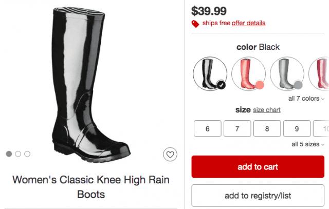 target-shiny-rain-boots