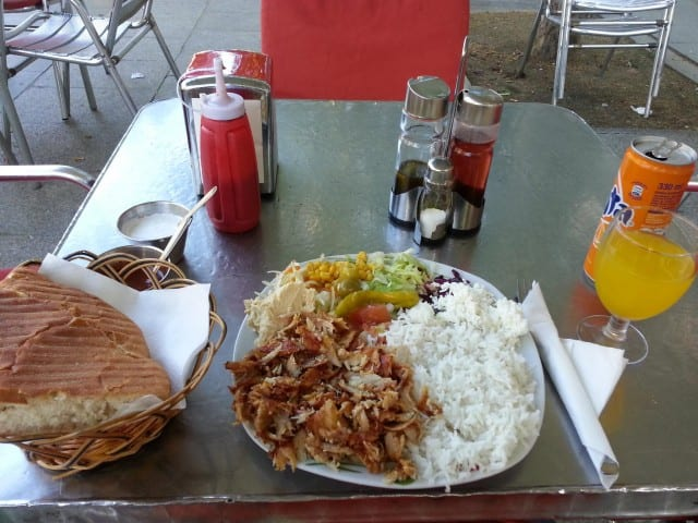 travel deals to Europe, a Middle Eastern meal