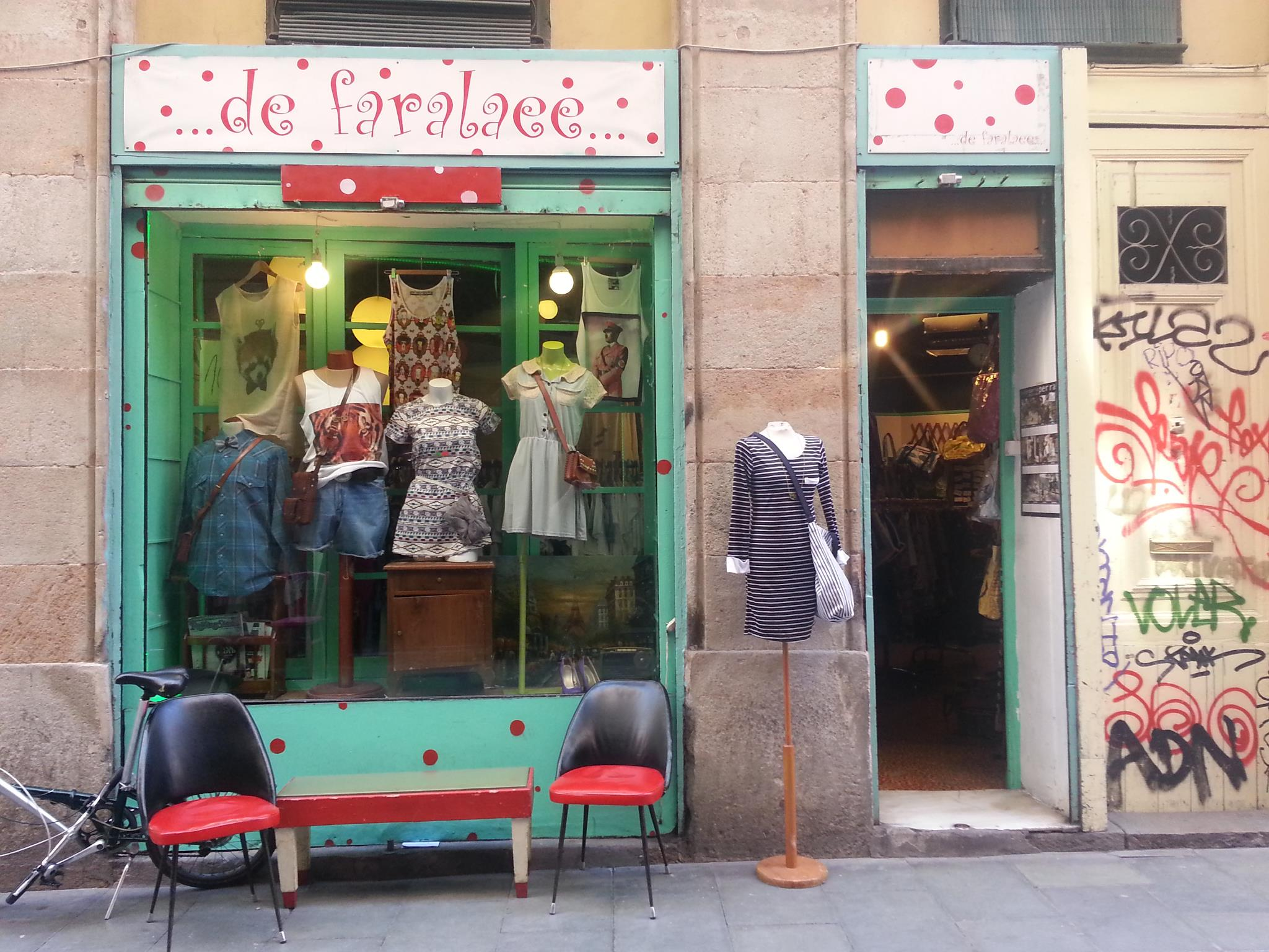 I loved the little indie shops all over Barcelona.