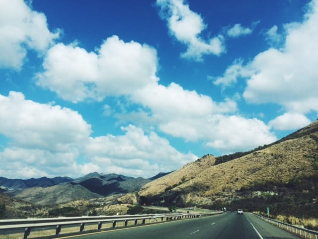 The road to Ponce