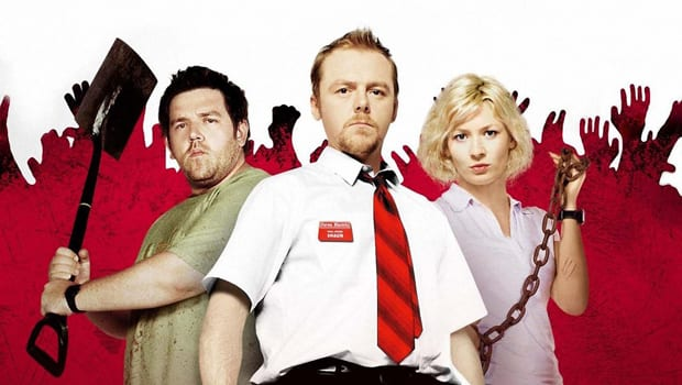 Friday the 13th Movie Night: Shaun of the Dead and Chocolate Cherry Grill Pies