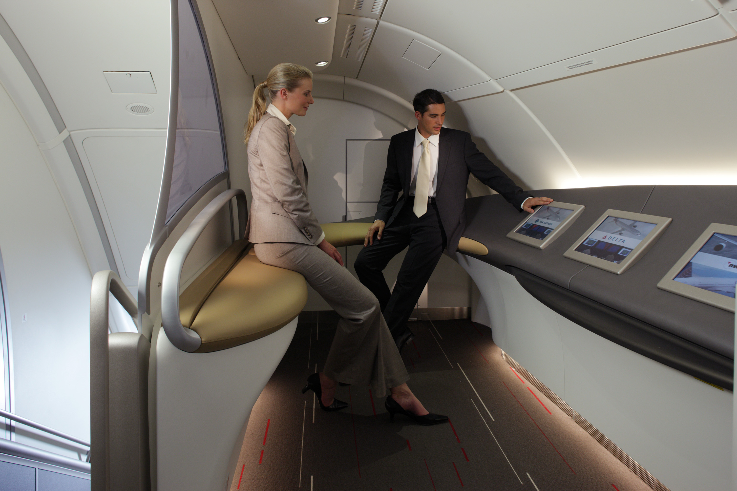 Casually peruse the art gallery on your next Air France flight (photo via corporate.airfrance.com)