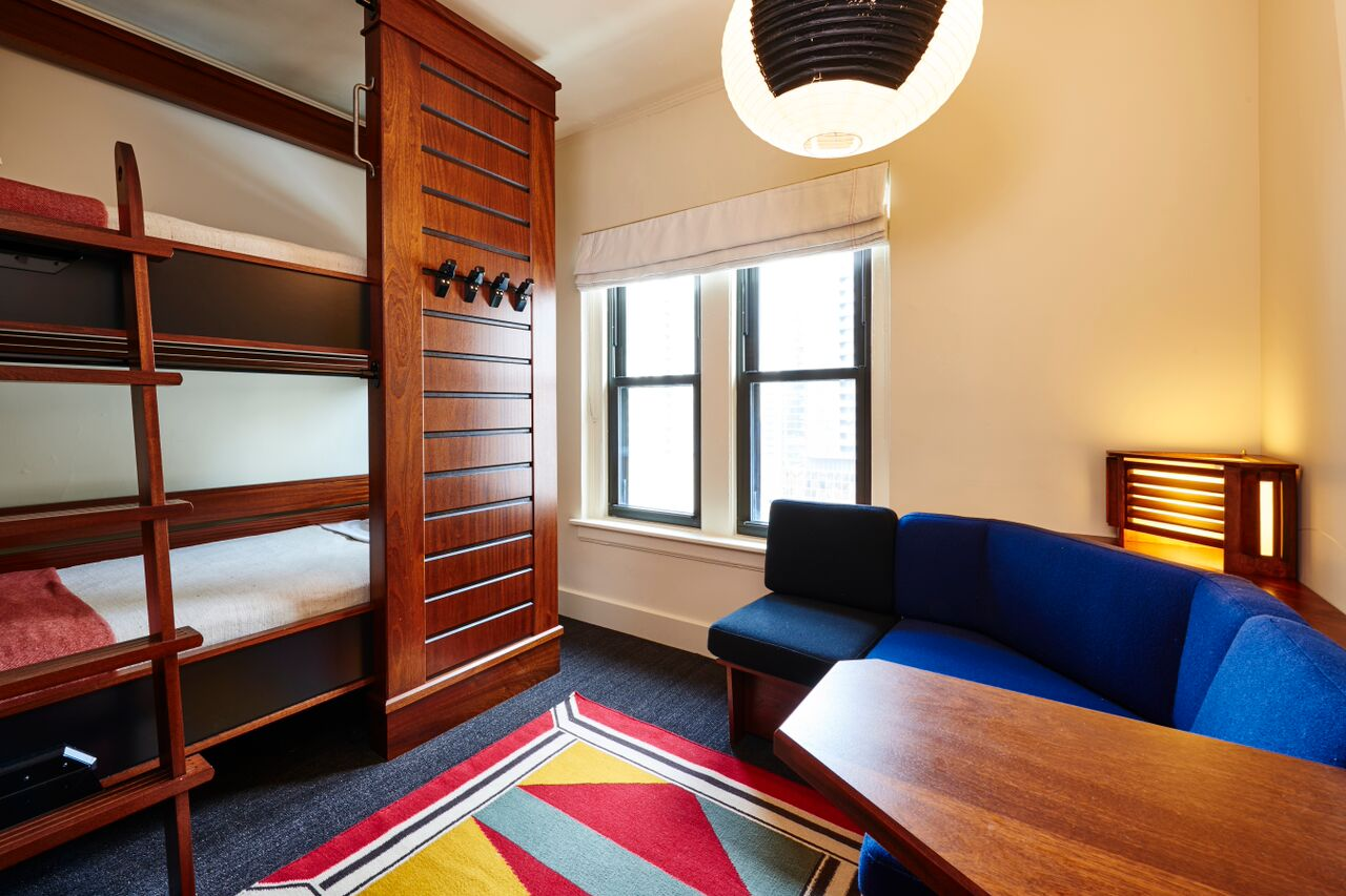 The dorms at Freehand are perfect for family fun! (Photo credit: Adrian Gaut)