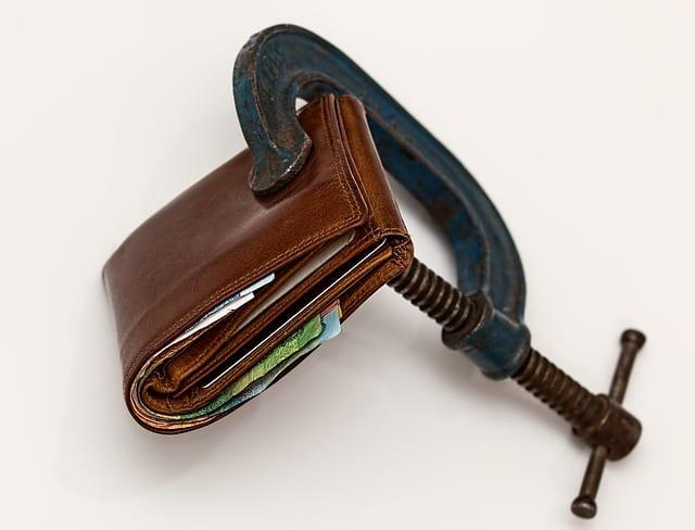 wallet vice grip