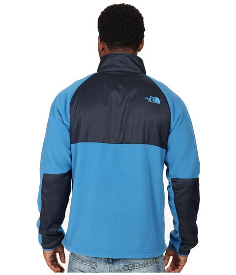 North Face McEllison Fleece back view