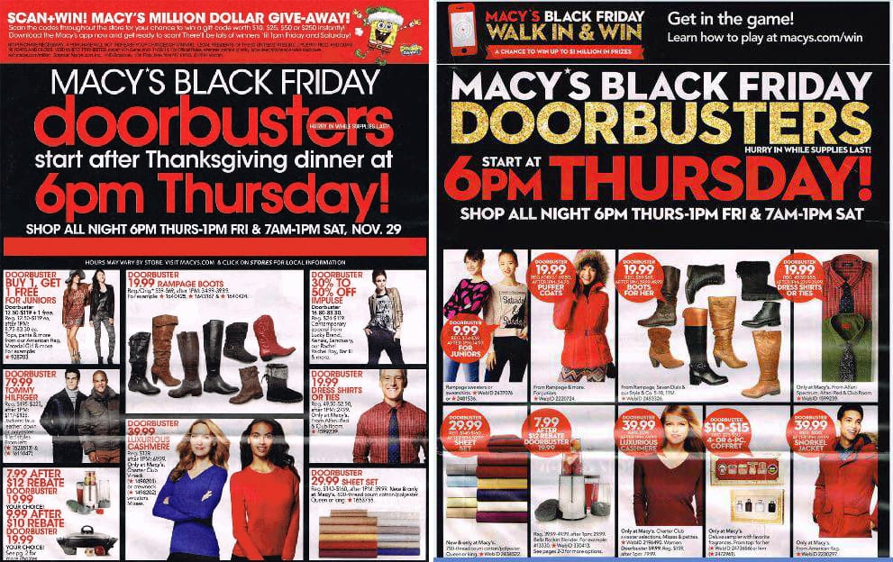 the macy 39 s black friday deals we 39 re happy to see return. Black Bedroom Furniture Sets. Home Design Ideas