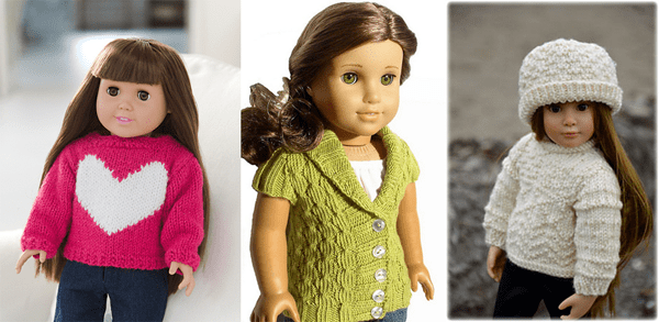 American Girl knitting patterns