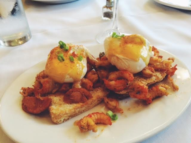 Crawfish Benedict? Don't mind if I do!
