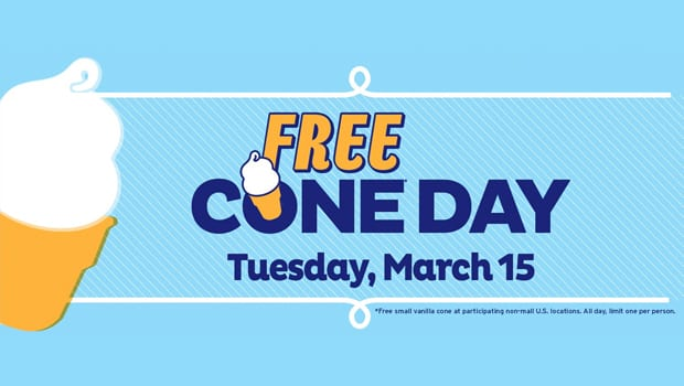 Free Ice Cream at Dairy Queen? Yes, Please!