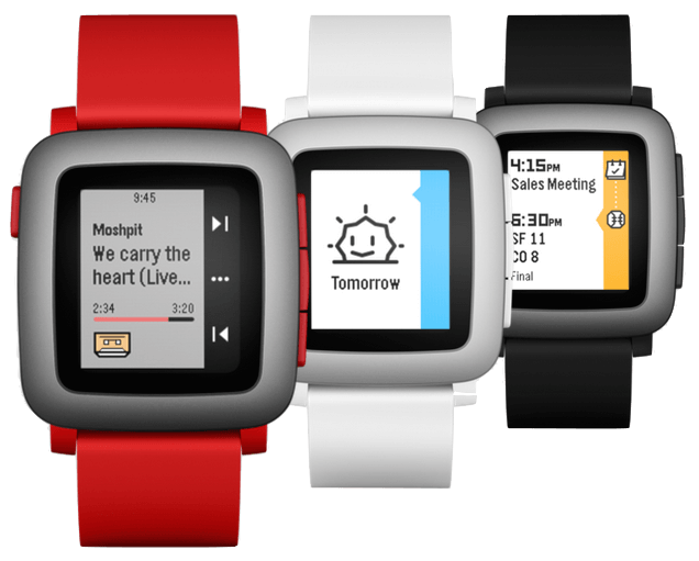 pebble options