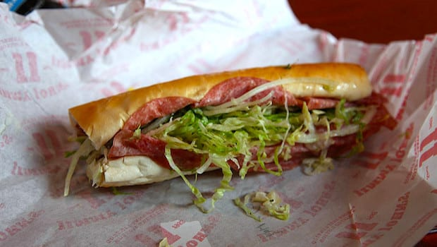 Snag a Jimmy John's sandwich for just $1 on 4/21!
