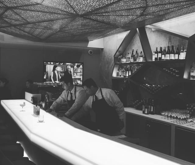 The Bar at the Etihad Lounge