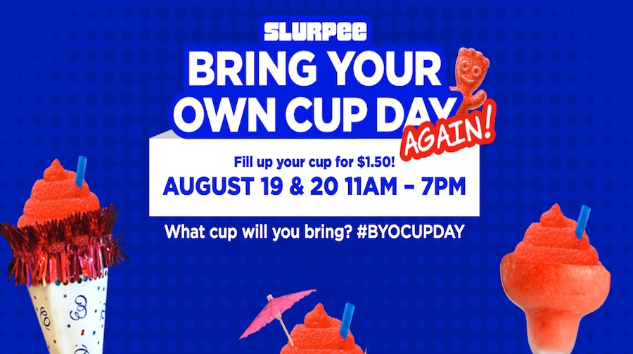 Celebrate 50 Years of Slurpees with BYO-Cup Day at 7-Eleven!