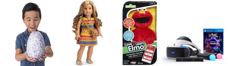 Top 5 Toys For Christmas : The hottest toys your kids already want for christmas
