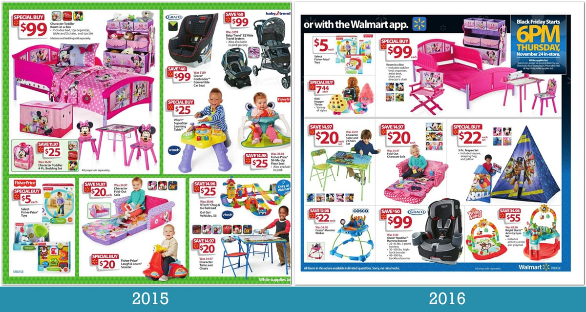 Walmart Black Friday Deals & Sales. Walmart Black Friday will be here before you know it. Black Friday brought us a number of great deals for Electronics, Home & Garden and more.