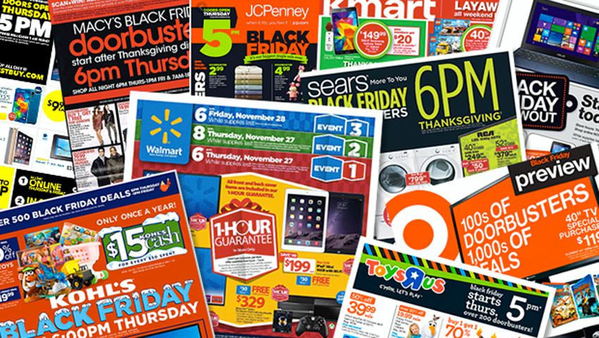 Download a Copy of All Your Favorite Black Friday Ads!
