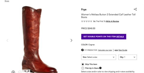 Bloomindales Frye Boots