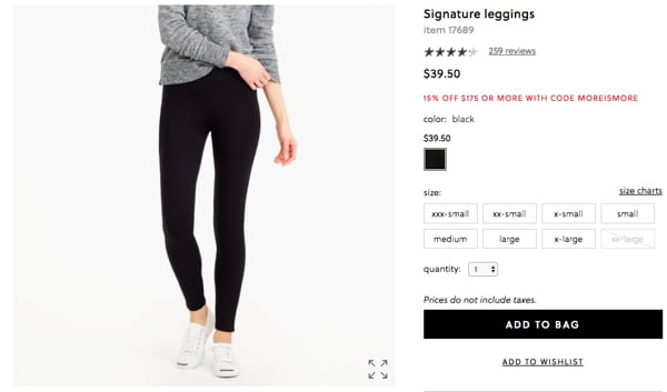 JCrew Leggings