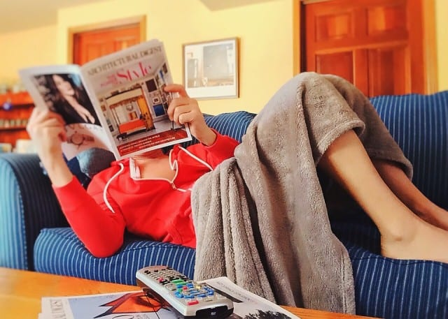 reading couch