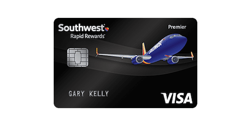 southwest airlines rapid rewards credit card