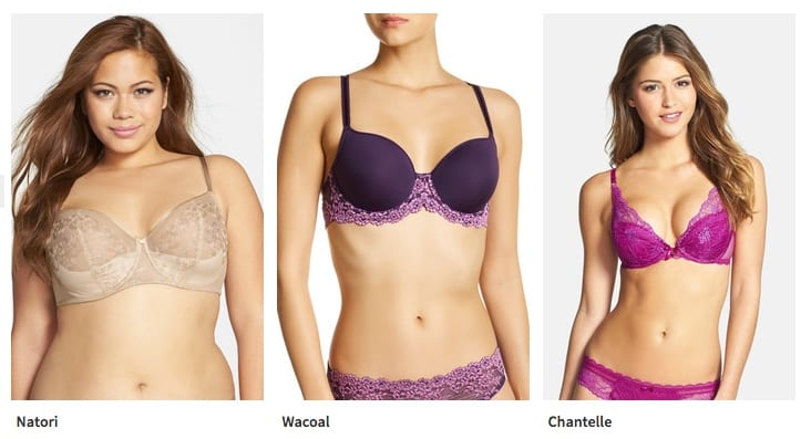 1f6e51106b3b8 Both Nordstrom Rack s online store and its retail locations offer huge  discounts on designer bras including Chantelle