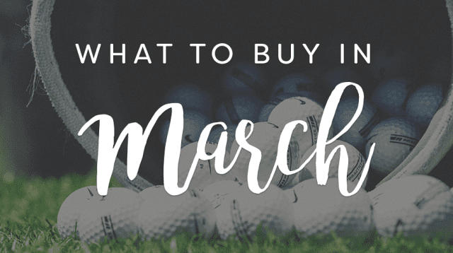 The 6 Best Things to Buy in March