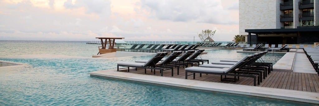 Grand Hyatt Playa del Carmen resort pool deck