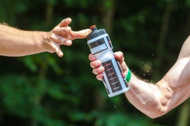 water bottle volunteer