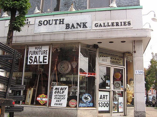 south bank galleries