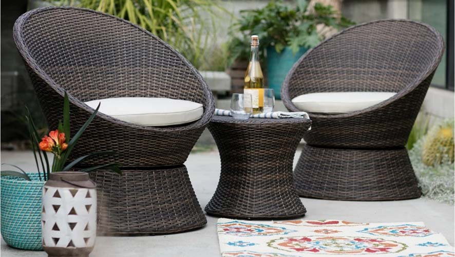wicker-set