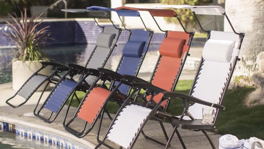 Amazing Zero Gravity Chair with Sunshade at Hayneedle